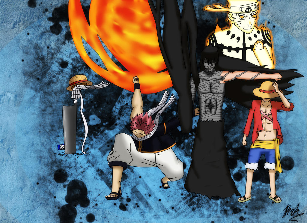 Anime (One Piece, Naruto, Bleach, Fairy Tail) By IDemon345