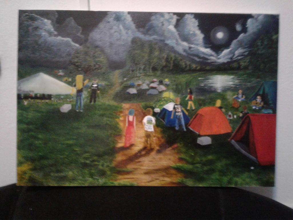 acampamento riverrock festival by CarlosEduardoTeodoro