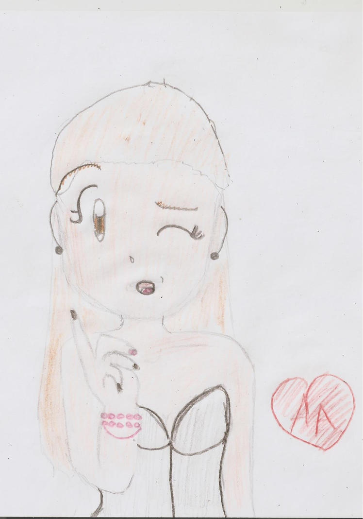 Ariana Grande by BecauseIamAlexandra