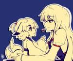 Yukari-shama and Ran-chan