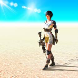 Dina Z - In the Desert