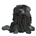 Newfoundland Dog pixel by Camalla