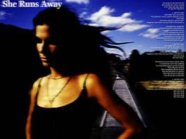 She Runs Away by dizzyflower28