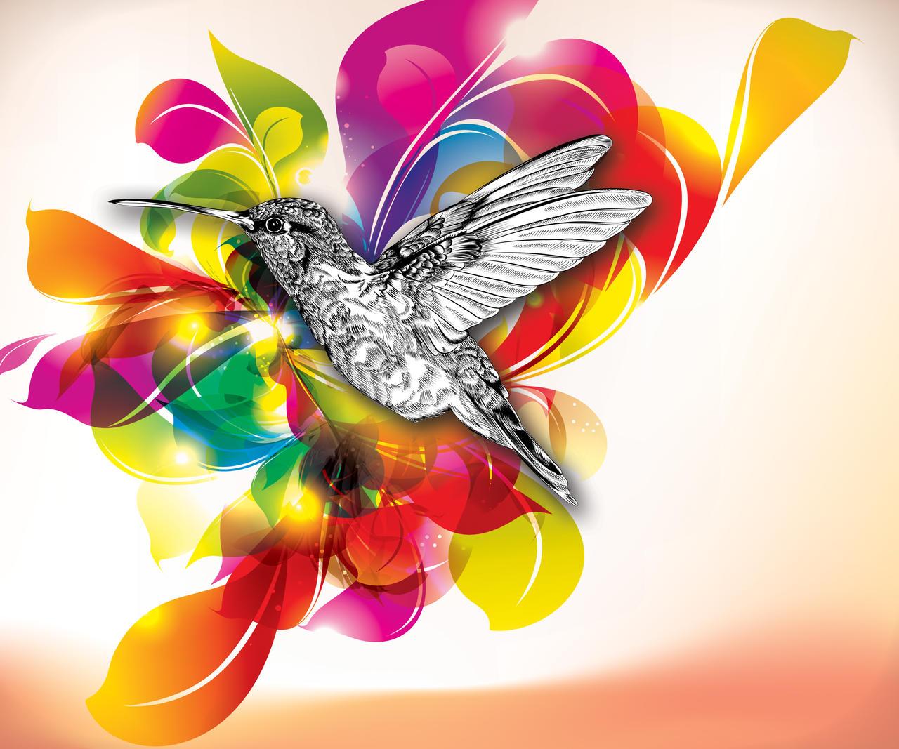 Flights of Color by dizzyflower28