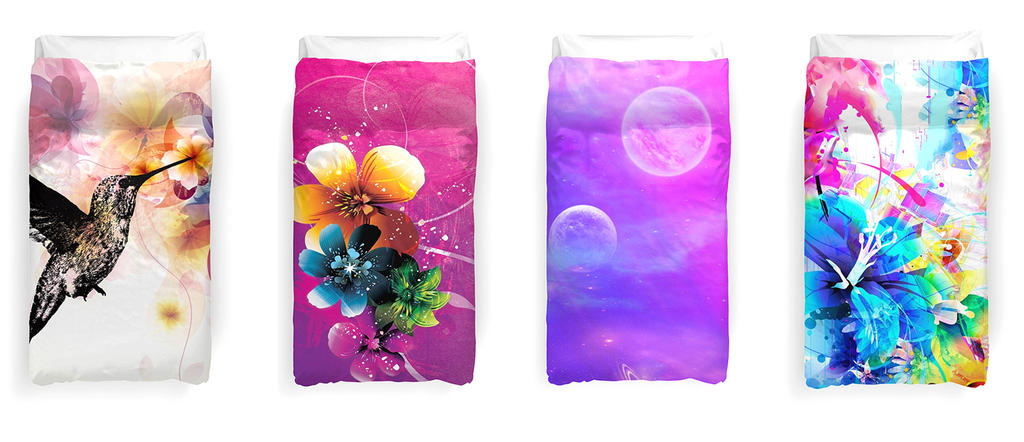 Duvet Covers by dizzyflower28
