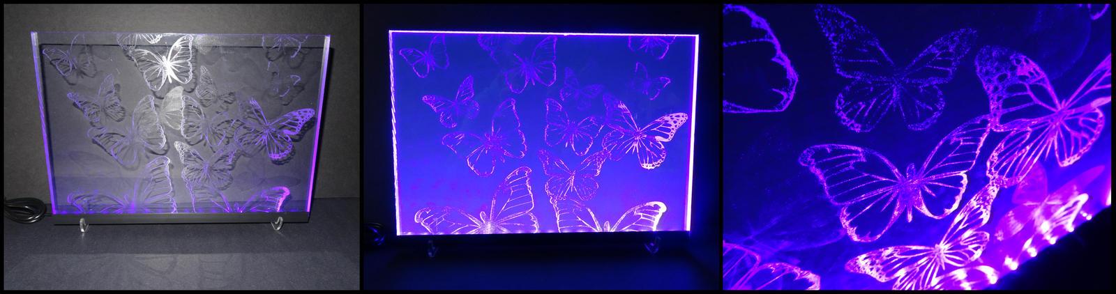 Butterfly Edge Lit Design by dizzyflower28