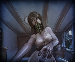 Cthulhu Kiss by faustie
