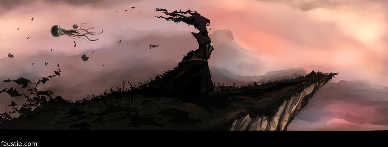 Precipice by faustie