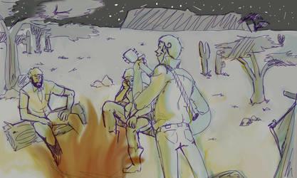 Campfire by GuruGuruboo