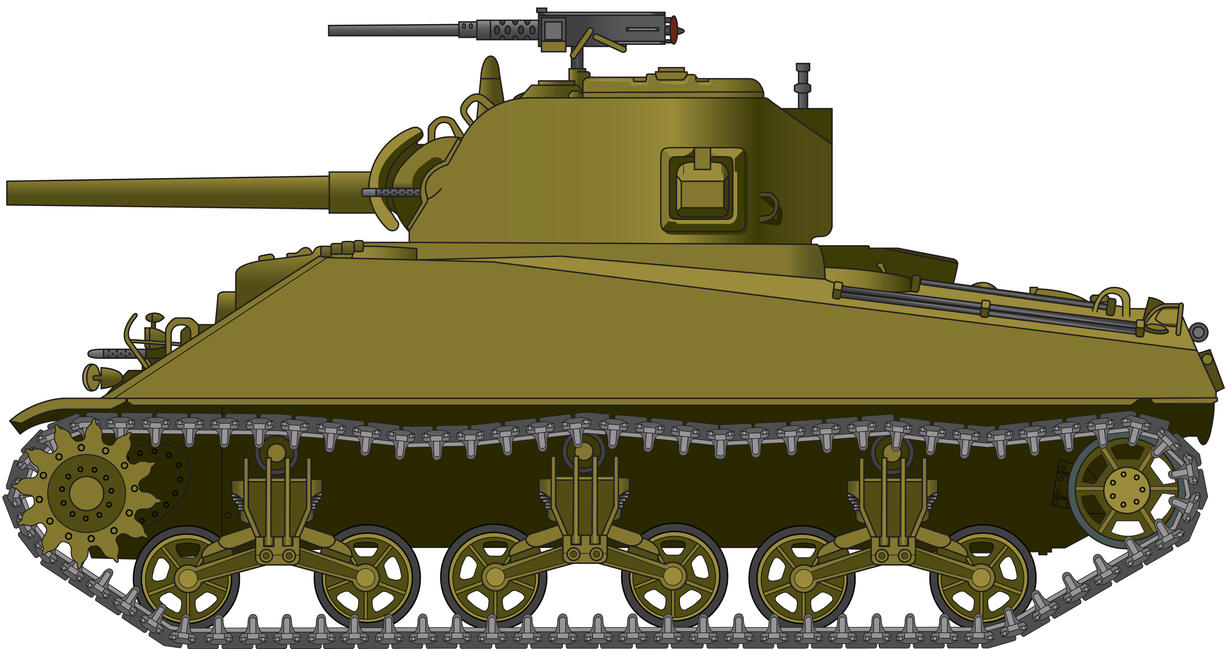 M4A1 Sherman by billy2345