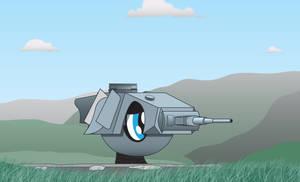 Panzer turret