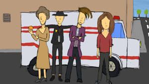 Doctor Who - The Shroud of Sorrow Fanart