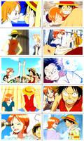 Luffy x Nami Scenes II by eezybreezy6