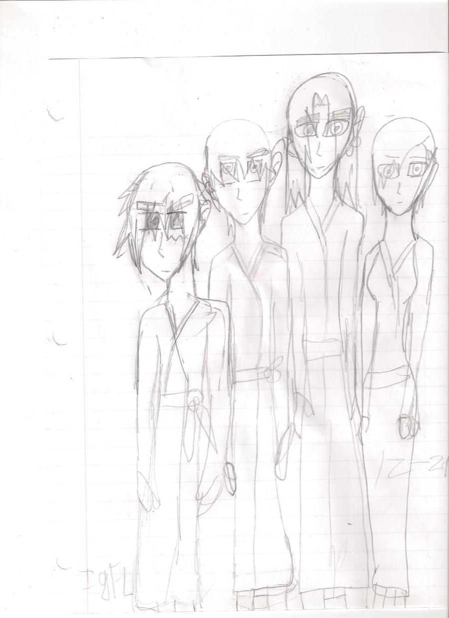 4 friendz by AnimeversalStudios