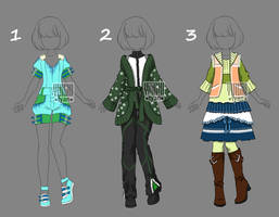 [closed] Auction Outfit Adopt by YuiChi-tyan