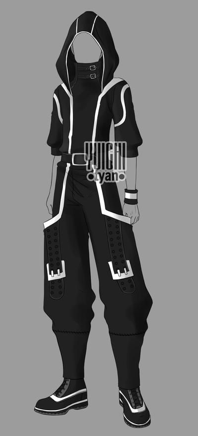 [Closed] Auction BW Outfit men3 by YuiChi-tyan on DeviantArt