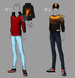 [closed] Outfit male fire by YuiChi-tyan