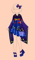 [closed] Auction Outfits famale kimono 183