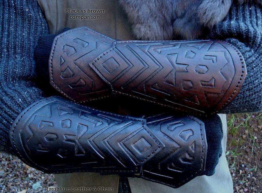 Thorin bracers - color comparison by rassaku