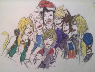 Happy New Year! Final Fantasy and Kingdom Hearts