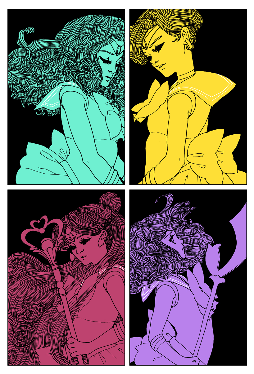 Fan Art Friday: Sailor Moon by techgnotic on DeviantArt