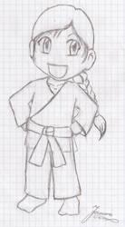 Karate Chibi Me by GuldeDK