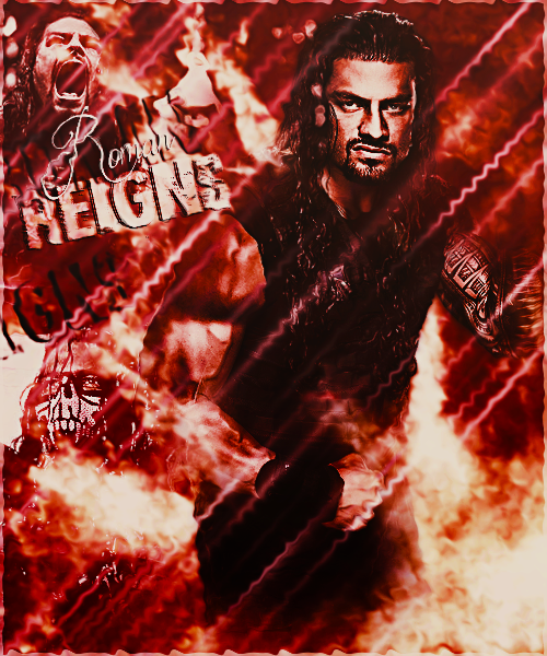 Roman Reigns 2015 Poster By HeZa by XHunter006 on DeviantArt