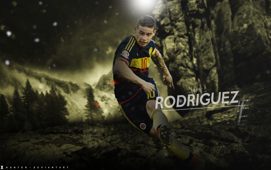 James Rodriguez Wallpaper Colombia By Heza By Xhunter006 On Deviantart