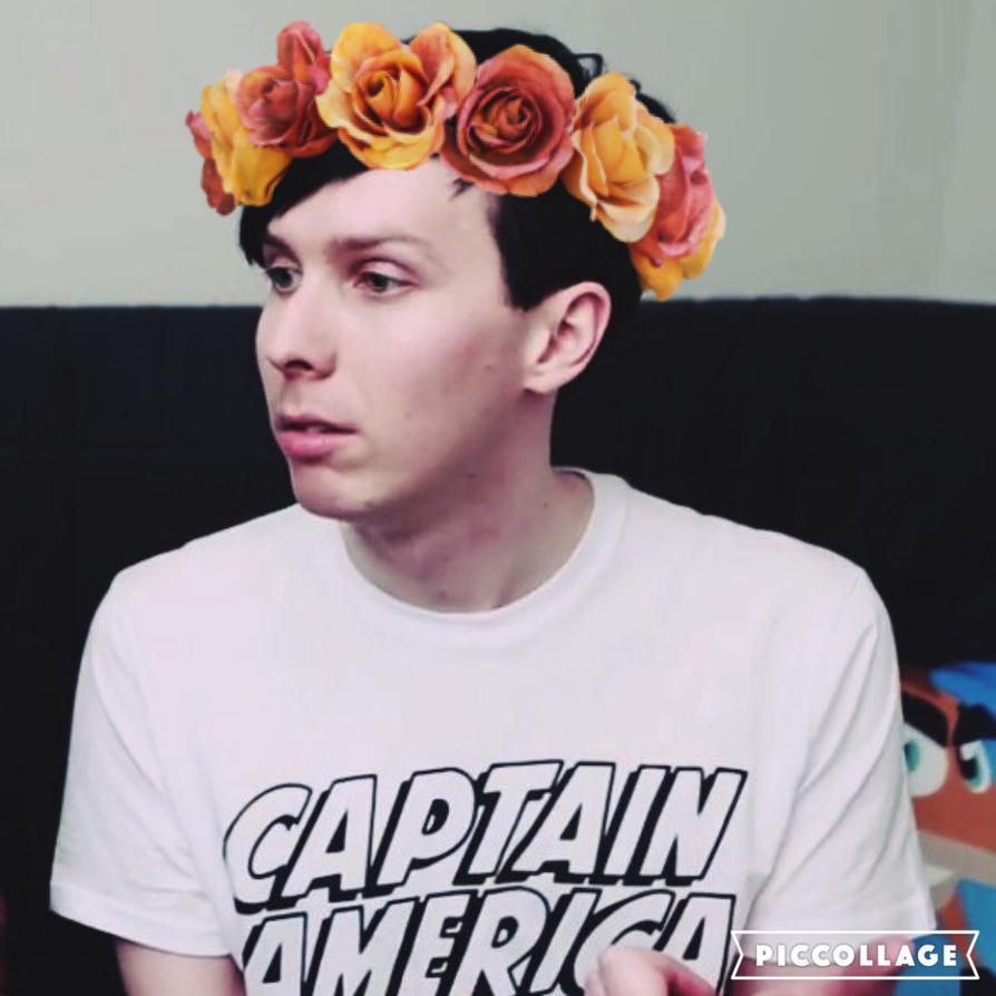 Phil Flower Crown Edit By Amazinglester On Deviantart