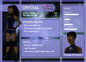 Dream Team App: Crystal by anakluxmos