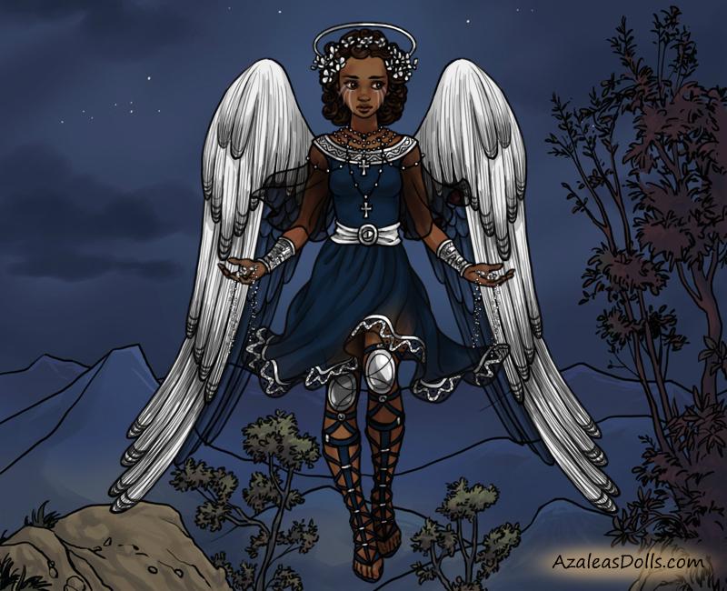 DT Angel AU: Brooklyn, the Weeping Angel by anakluxmos