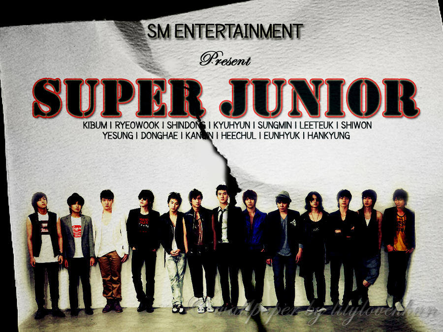 super junior wallpaper by lilyloveyou on DeviantArt