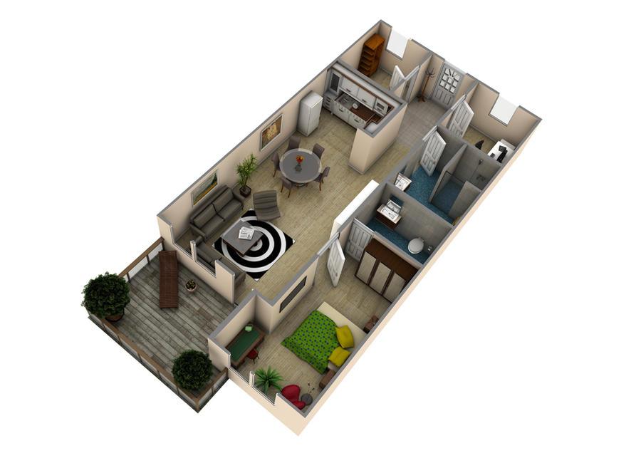 floor plan by Fox-28