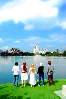 We cross the Sky by teruteru-bozu