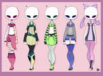 [OPEN] Outfit Adopt Batch - [2/5] by Raicy-Outfit-Adopts