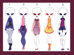 [OPEN] Casual-Wear Theme Batch [3/5] by raicyrose-outfits