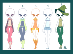 [OPEN] Hue / Colour Theme Outfit Batch [4/5] by raicyrose-outfits