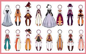 [OPEN] Halloween - Outfit Adopt Batch [8/16]