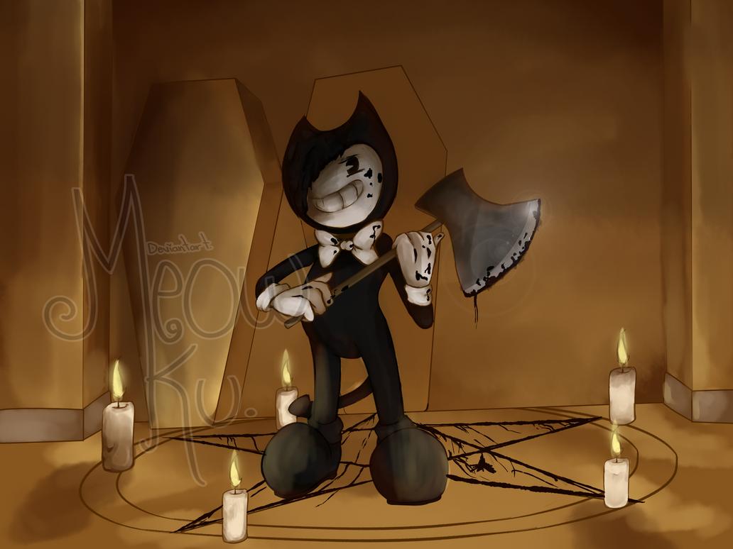 Bendy An Ink Machine ::fan art:: by Meow-Ku