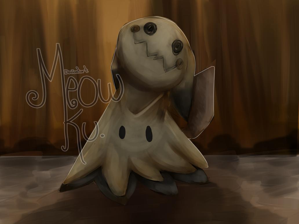 Fan Rt ::Mimikyu:: pokemon sun and moon by Meow-Ku