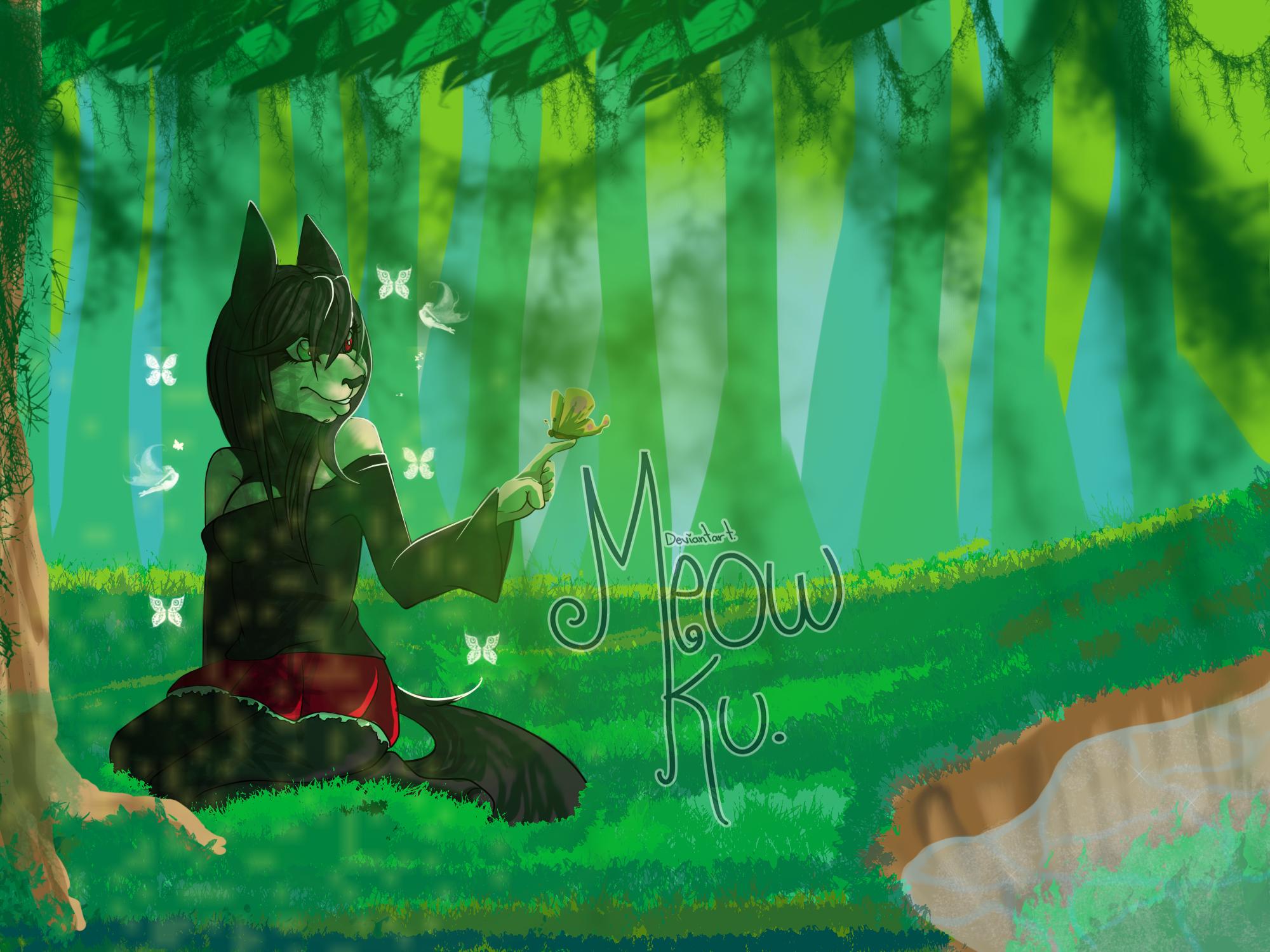Comm 1 ::Kyne:: by Meow-Ku