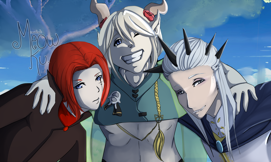 commission 5 ::Drachen-D-Adrik:: by Meow-Ku