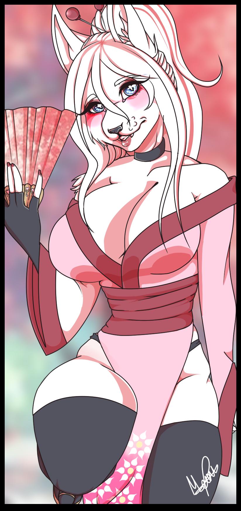 Izumi style 2 kimono by Meow-Ku