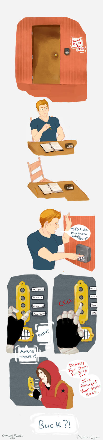 Delivery (Stucky comic) by Ookami-Blaze1995