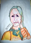 Cecilia Vicuna portrait by Berty0Berty