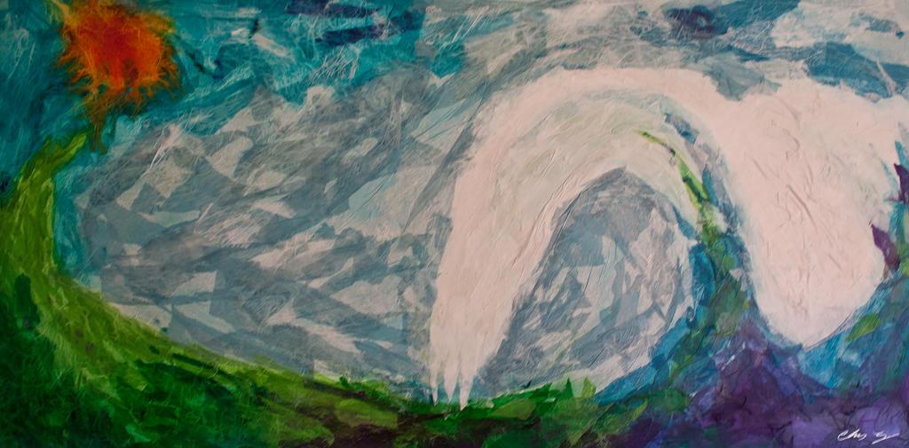 Neptune Raising by Thisnameisabunchofsh
