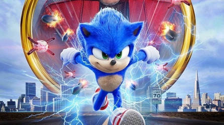 Sonic Movie Banner