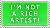I'm not a rich artist by Lemmo1
