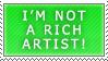 I'm not a rich artist by Lemmo1