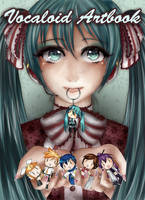 Vocaloid artbook cover by Lemmo1